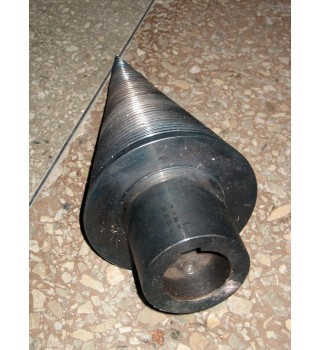 "Wood splitter screw D=150mm(6"") diameter L=350mm length"
