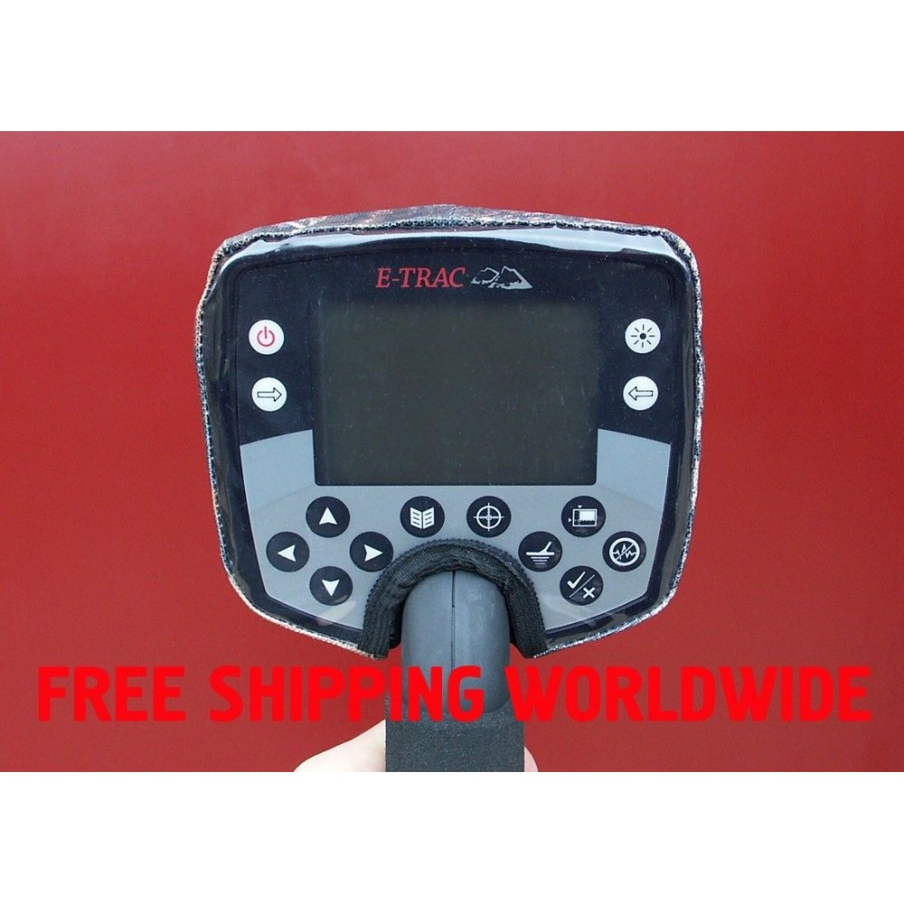 Rain dust cover for Minelab E-Trac/Etrac metal detector's