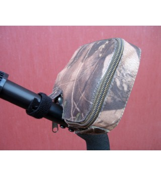 Dust dirt cover for a Fisher F11/F22/F44 metal detectors