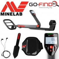 Minelab GO-FIND 60 metal detector with accessories